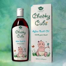 Cheeky Cubs After Bath Oil 200ml