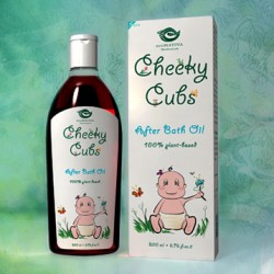Cheeky Cubs After Bath Oil 200ml