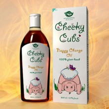 Cheeky Cubs Nappy Change Oil 200ml