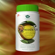 ecoZETOX Body Detox & Colon Cleansing, powder