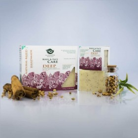 Natural Deep Cleansing Soap Travel size
