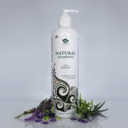 Natural Shampoo with ZEOLITE and herbs 500ml